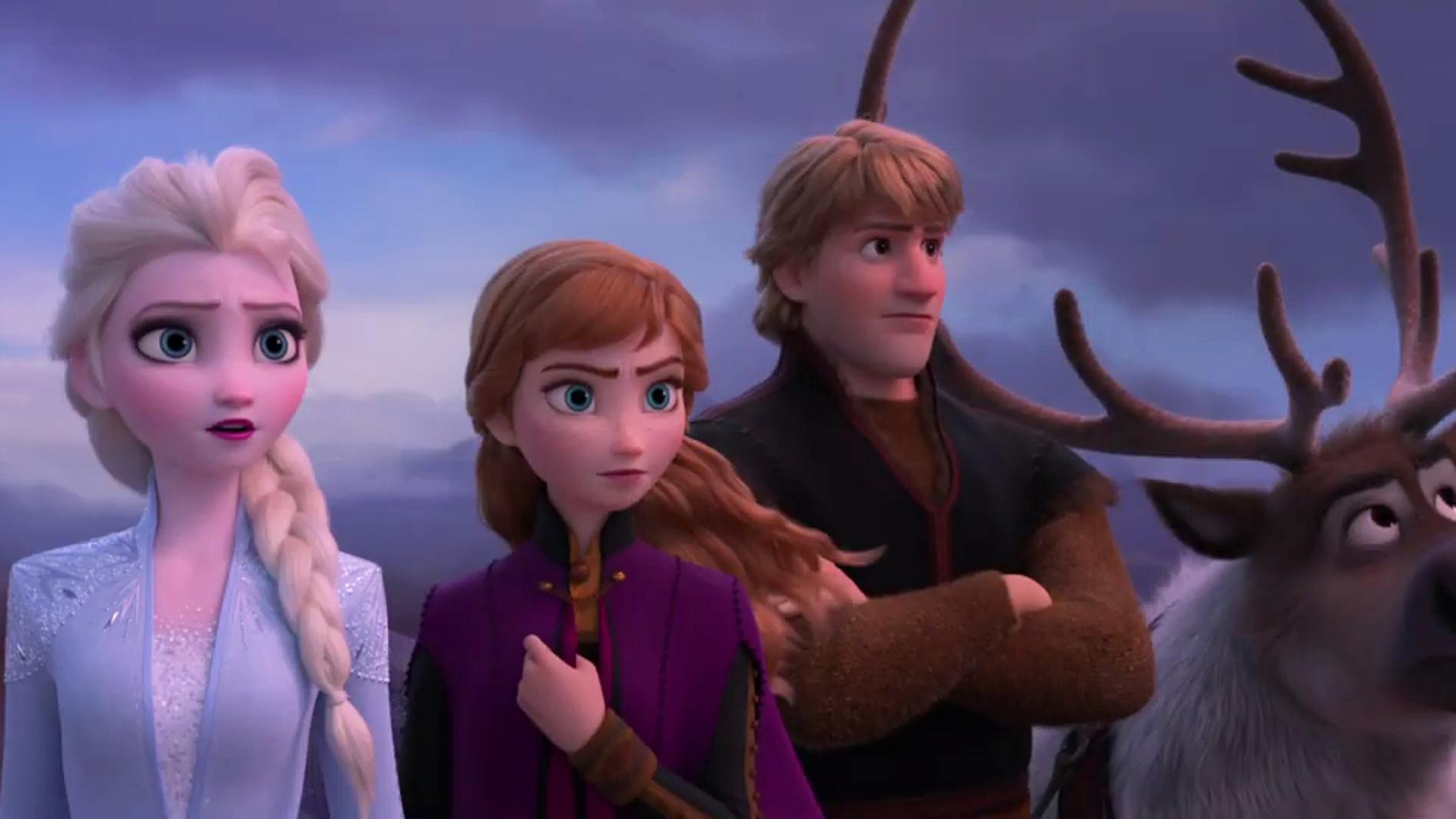 Los protagonistas de 'Frozen 2'