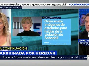Susanna Griso en un momento de 'Espejo Público'