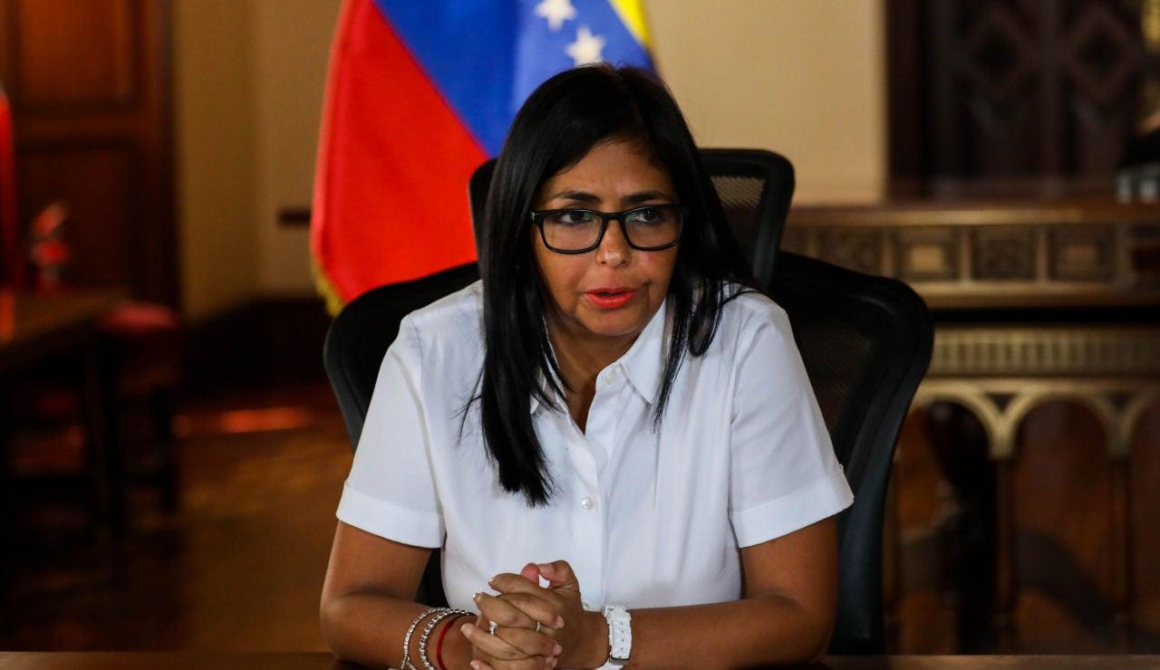 La vicepresidenta ejecutiva de Venezuela, Delcy Rodríguez