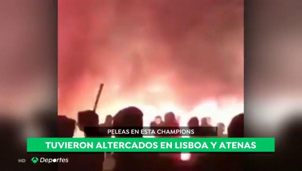 Los antecedentes de los ultras del Ajax: una batalla campal en Atenas, incidentes en Lisboa, disturbios en Vigo...
