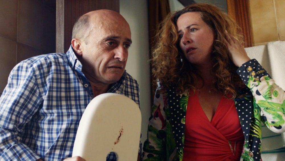 """Don Julio, a Alfonso y Almudena: """"Ahora nos une la sangre derramada de mi hermano"""""""