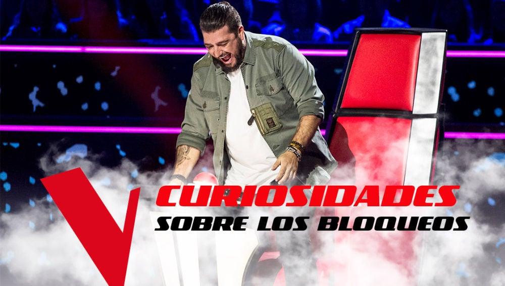 VÍDEO: Las diez curiosidades sobre los bloqueos entre los coaches de 'La Voz'