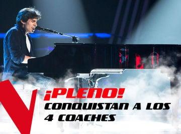 VÍDEO: Las actuaciones que hicieron girarse a todos los coaches de 'La Voz'