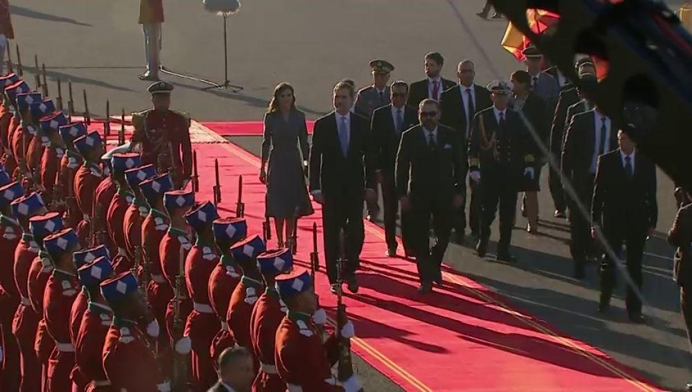 REEMPLAZO: El Rey continúa su agenda con normalidad y emprende su viaje de Estado a Marruecos