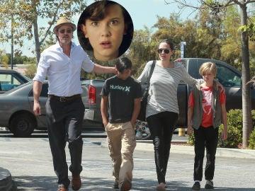 Millie Bobby Brown y los hijos de Angelina Jolie y Brad Pitt