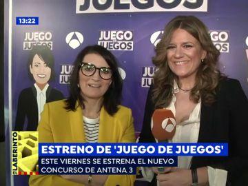 Silvia Abril, ante el estreno de 'Juego de juegos: