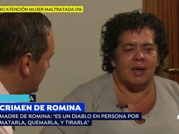 """La desgarradora petición de la madre de Romina: """"Quiero que Raúl me diga dónde tiró la cabeza de mi hija"""""""