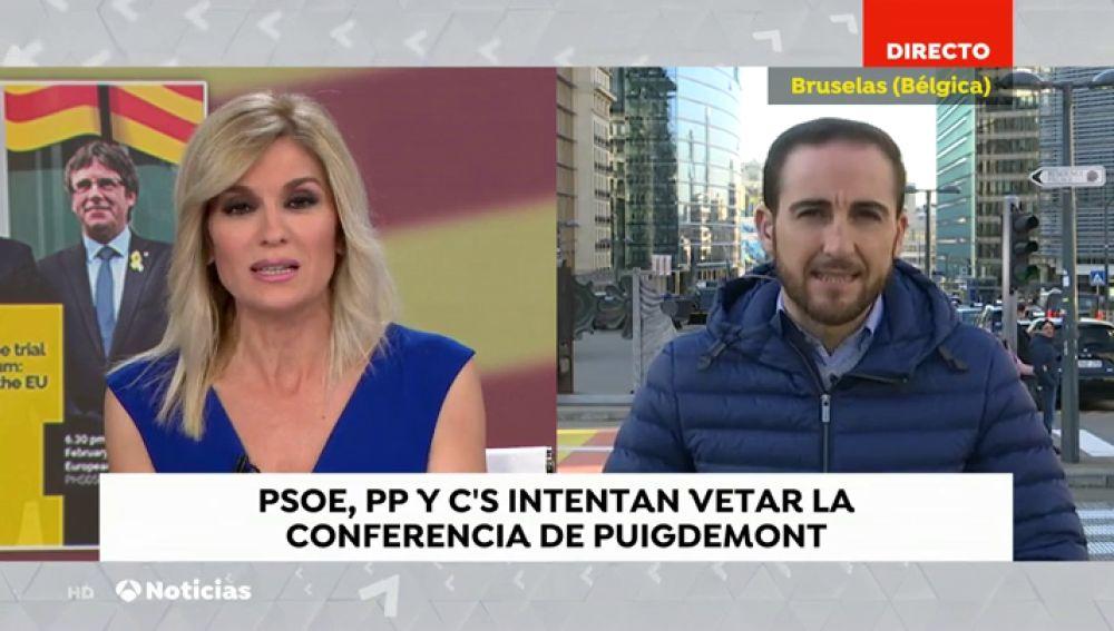 PP, PSOE Y Ciudadanos se unen para pedir a Tajani que no permita la conferencia de Torra y Puigdemont