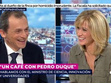 """Pedro Duque: """"Que levante la mano quien no se haya quedado descolocado por una decisión de Pedro Sánchez"""""""