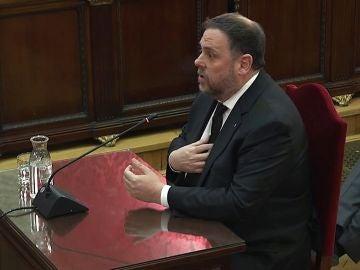 Oriol Junqueras en el juicio al 'procés'