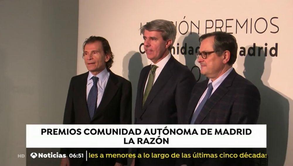 'La Razón' entrega los Premios Comunidad Autónoma de Madrid