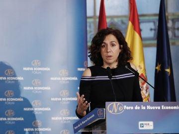 La secretaria de Estado de la España Global, Irene Lozano