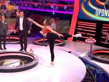 concursante baila en ahora caigo
