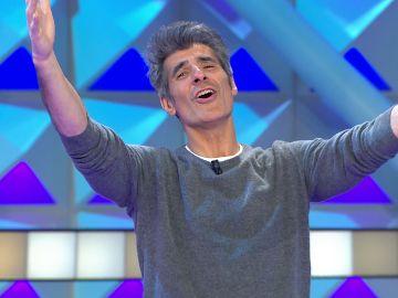 El 'Te quiero' a los cuatro vientos de Jorge Fernández en 'La Ruleta de la suerte'