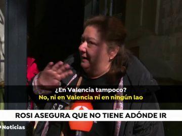 Rosi, la mujer que ha sufrido tres intentos de desahucio, tendría una propiedad a su nombre en Valencia