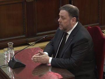 Declaración de Oriol Junqueras en el juicio al 'procés'