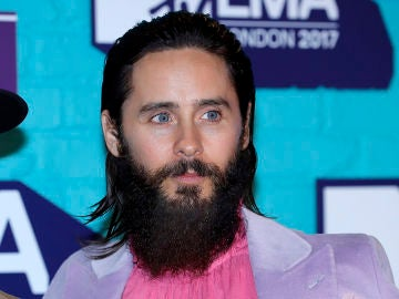 El actor y cantante Jared Leto