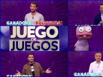 Pablo Motos, Arturo Valls, Iñaki López, las hormigas y Roberto Brasero participan en 'Palabra Prohibida'