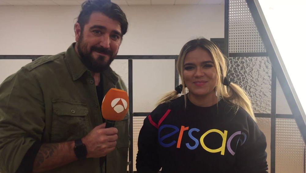 """Vídeo: Antonio Orozco y Karol G prometen """"intensidad y emoción"""" en los Asaltos"""