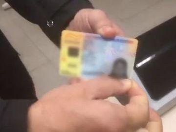 La Policía Nacional descubre un DNI falso de una mujer marroquí
