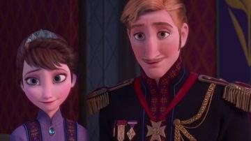 Los padres de Elsa y Anna, Iduna y Agnarr