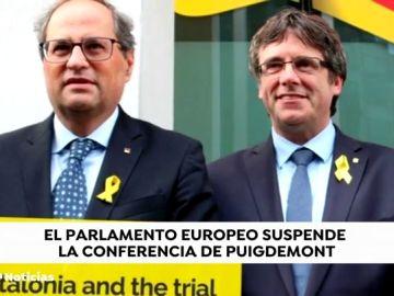 El Parlamento Europeo veta el evento con Puigdemont del lunes por seguridad
