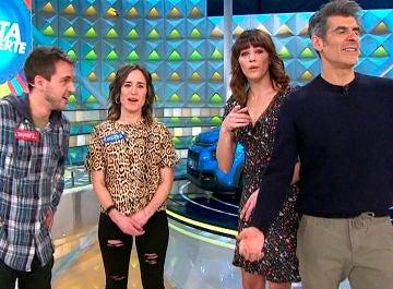 Jorge Fernández y Laura Moure se solidarizan con Samuel en 'La ruleta de la suerte'