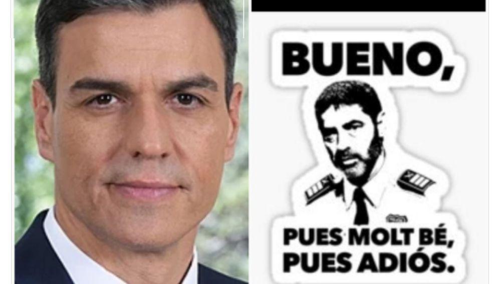Los memes de la comparecencia de Pedro Sánchez