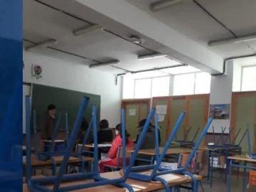 Cortes de luz en un instituto de Granada