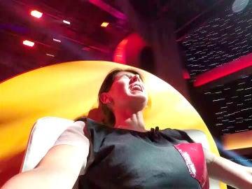 Vídeo: Noelia supera el 'Mareo a-dos' gracias a un globo de helio