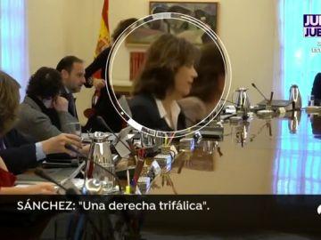La 'pillada' a Pedro Sánchez en Consejo de Ministros.