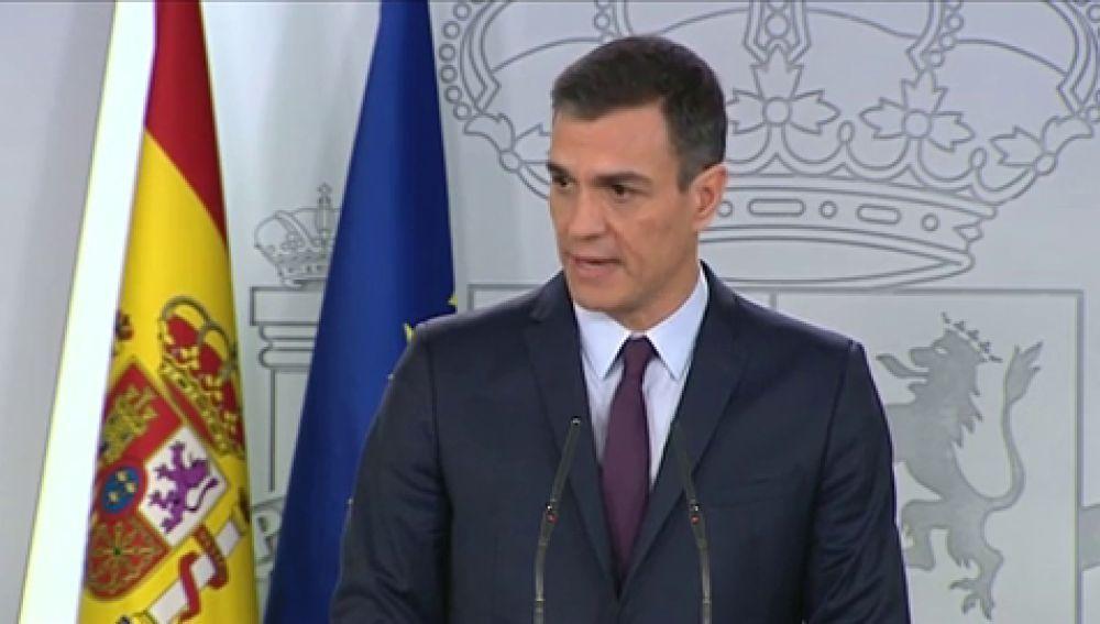 Pedro Sánchez convoca las próximas elecciones generales para el 28 de abril