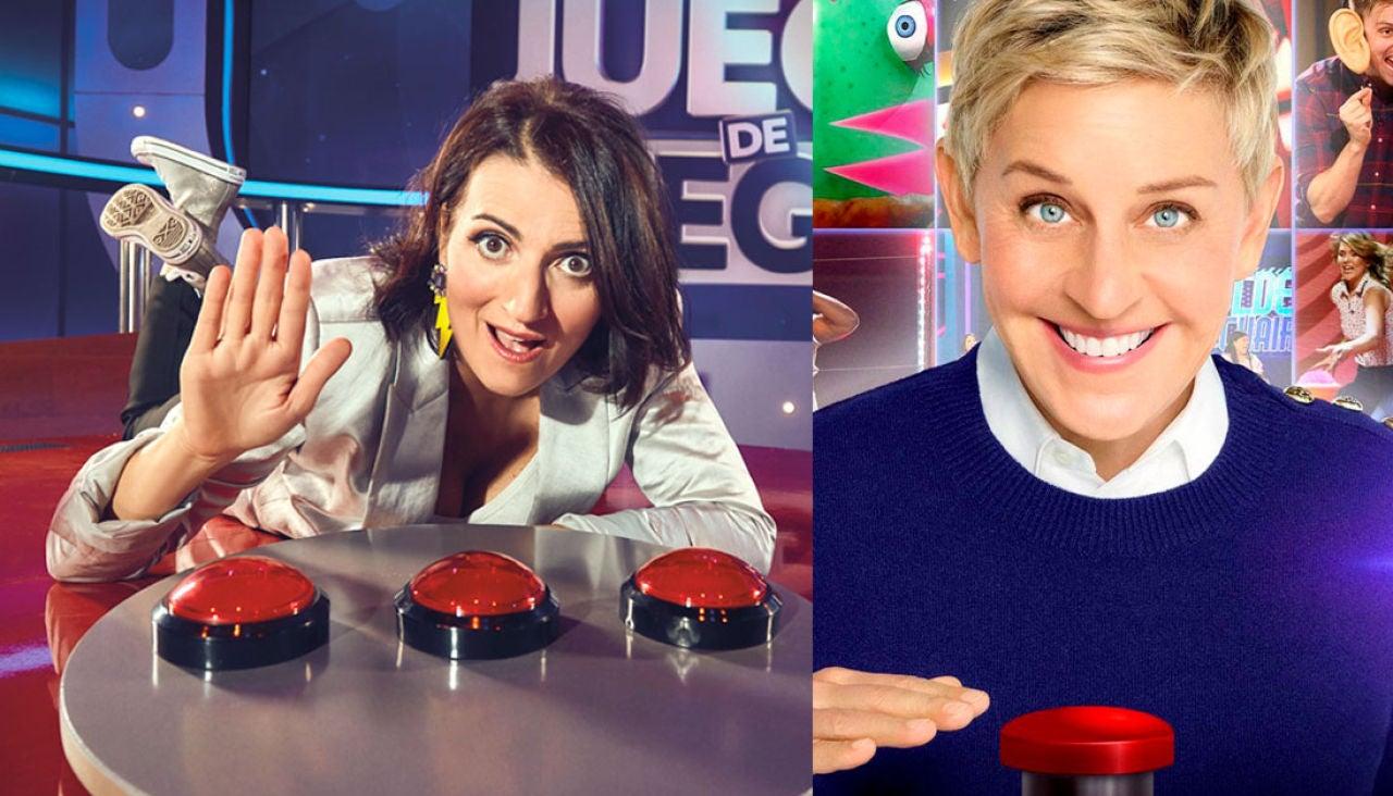 Silvia Abril y Ellen DeGeneres