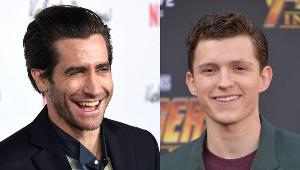 Jake Gyllenhaal y Tom Holland, los nuevos mejores amigos