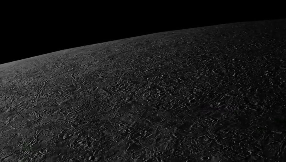 La NASA procesa un vídeo de sobrevuelo entre el polo norte y el polo sur