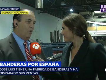 El empresario uruguayo que ha disparado la venta de banderas de España