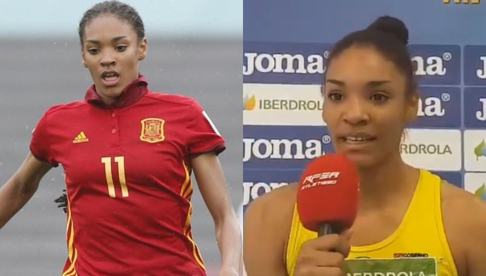Salma Paralluelo, de campeona mundial en fútbol a récord nacional en 400 metros