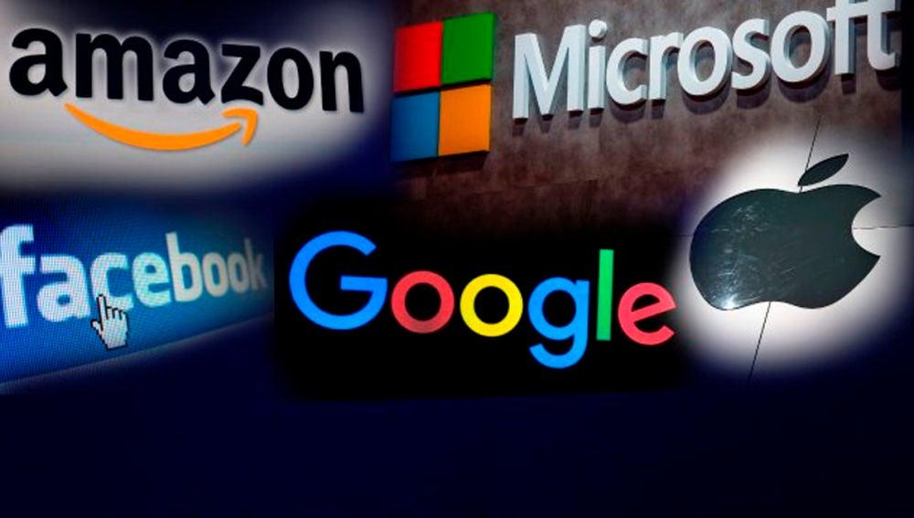 Amazon, Facebook, Google, Microsfot y Apple