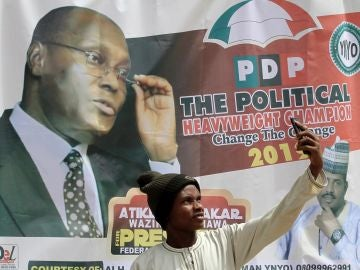 Cartel de las elecciones en Nigeria