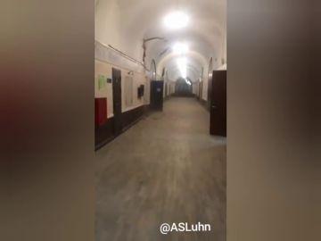 Se desploma el techo de una universidad en San Petersburgo