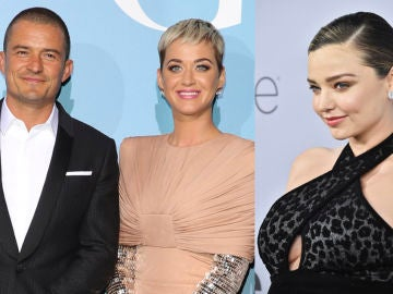 Orlando Bloom, Katy Perry y Miranda Kerr