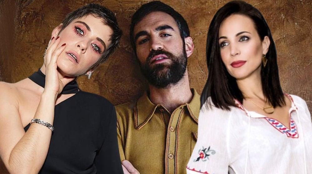 María León, Jon Plazaola y Nerea Garmendia, protagonistas de 'Allí abajo'
