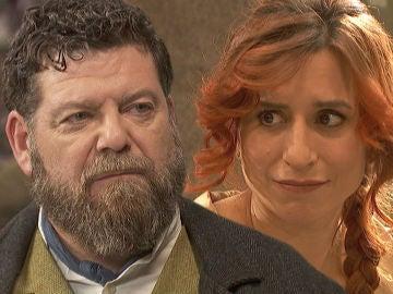 Mauricio y Fe en 'El secreto de Puente Viejo'