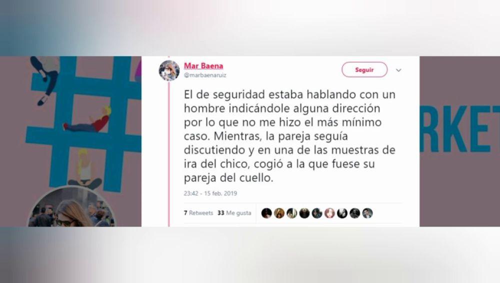 Una joven comparte cómo es testigo de una agresión machista en el Metro de Madrid, pero no lo puede denunciar