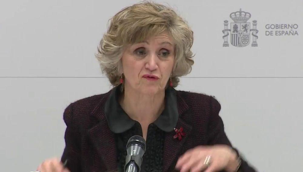 La ministra de Sanidad afirma que las presuntas irregularidades en el Imserso son de la última etapa del Gobierno del PP