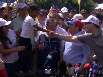 "Un niño le pide a Marco Rubio: ""Libertad para Venezuela"""