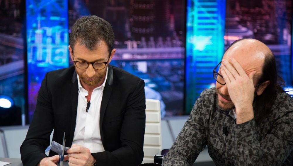 Pablo Motos echa a Santiago Segura del Club Platino de 'El Hormiguero 3.0'