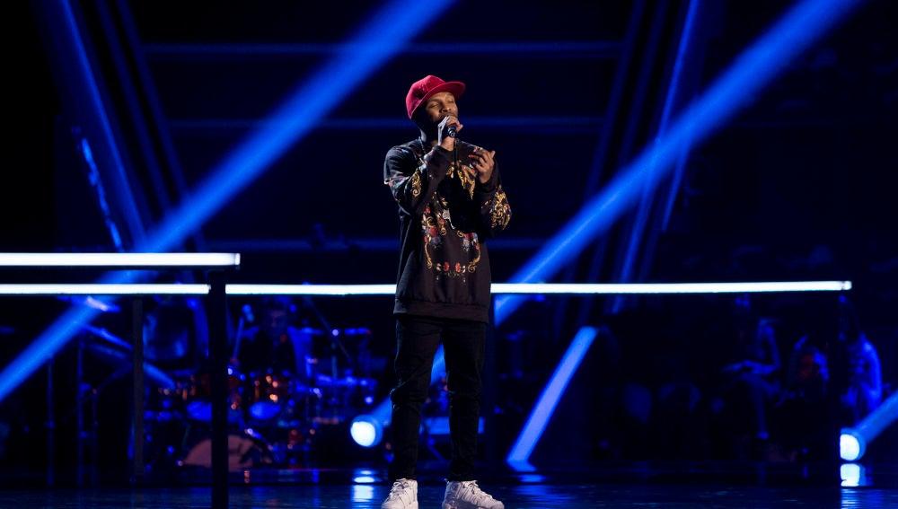 Marcelino Damion canta 'So Sick' en los Asaltos de 'La Voz'