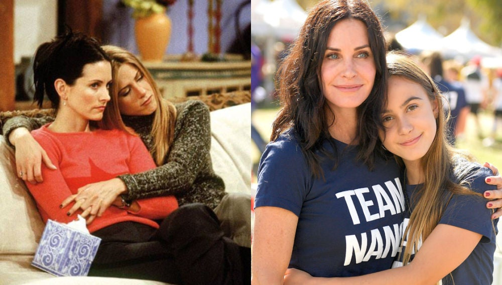 La hija de Courteney Cox es fan de 'Friends'
