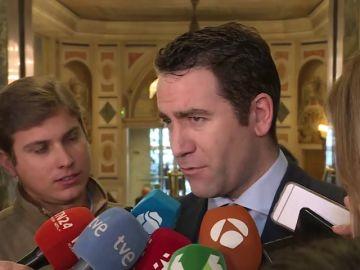 """García Egea: """"El adelanto electoral es el primer acto de la pantomima con la que el Gobierno venderá su no negociación con el secesionismo"""""""